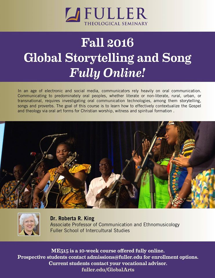 Fuller Storytelling & Song course
