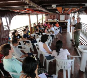 Bible Storying/Orality Training on a boat on the Amazon River in Brazil